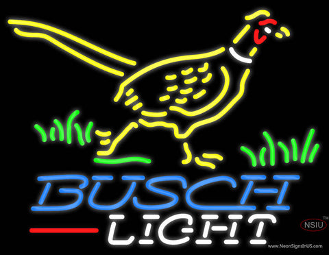 Busch Light Pheasant Neon Sign