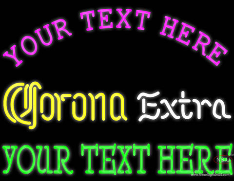 Custom Corona Extra Neon Beer Sign