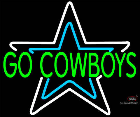 Custom Go Cow Boys Neon Sign