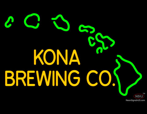 Custom Kona Brewing Co Neon Sign