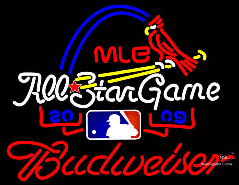 Budweiser With Mlb All Star Game Neon Sign