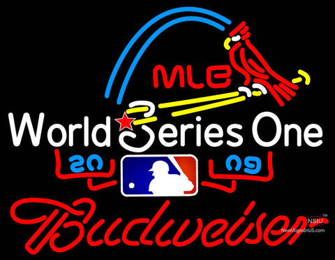 Budweiser All Star Game  Mlb Neon Sign