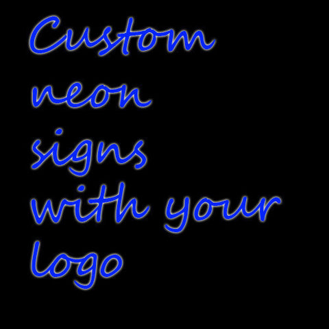 Custom neon light payment link