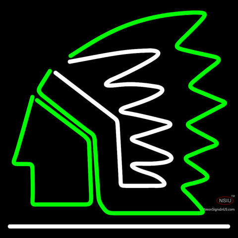 Custom North Dakota Fighting Sioux Primary 7  NCAA Neon Sign