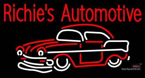 Custom Richies Automotive Neon Sign