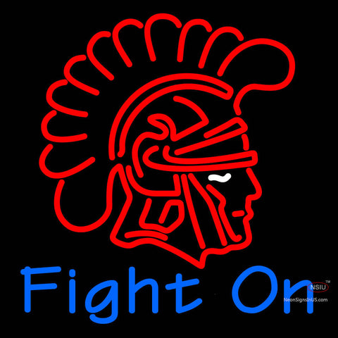 Custom Southern California Trojans 7  Fight On Ncaa Neon sign