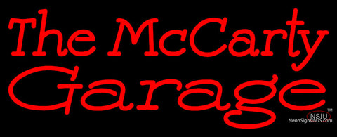 Custom The Mccarty Garage Neon Sign