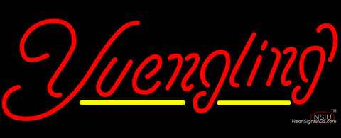 Yuengling Yellow Line Neon Sign
