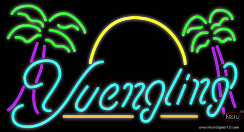 Yuengling with Palm Trees Neon Sign