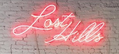 Last Hills Neon sign - Handmade Art Neon Signs