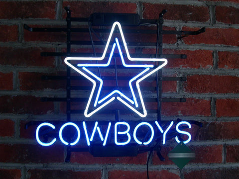 Dallas Cowboys Neon Sign