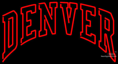 Denver Pioneers Neon Sign