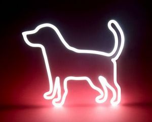 Dog Handmade Art Neon Signs