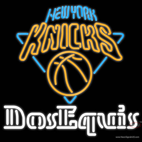 Dos Equis New York Knicks Neon Beer Sign