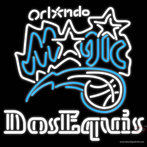 Dos Equis Orlando Magic NBA Neon Beer Sign