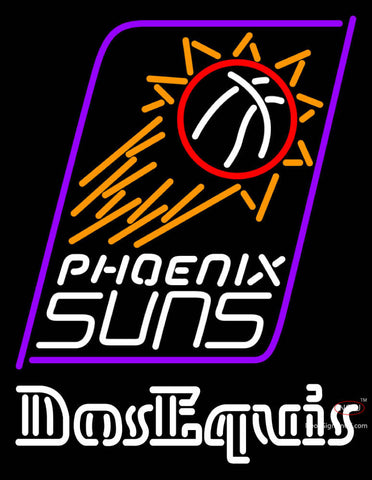 Dos Equis Phoenix Suns NBA Neon Beer Sign