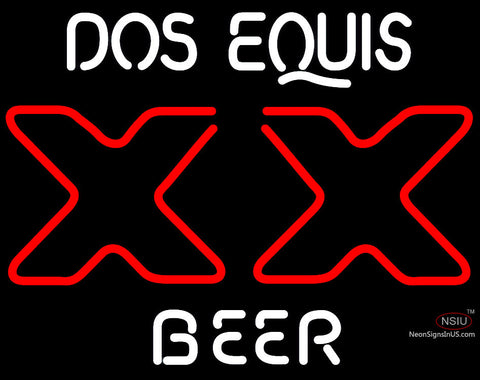 Dos Equis Xx Neon Beer Sign x