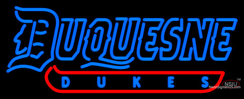 Duquesne Dukes Neon Sign
