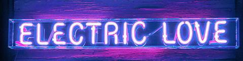Electric Love Neon Sign Wall Decor Light
