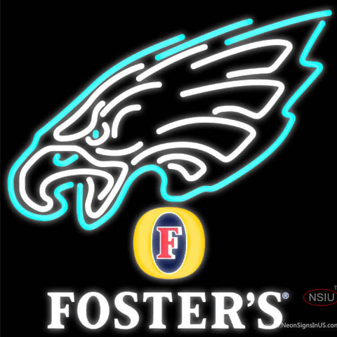 Fosters Philadelphia Eagles NFL Neon Sign