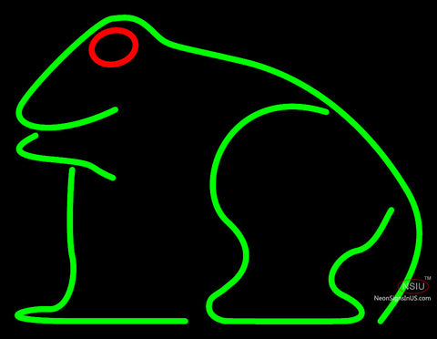 Frog Neon Sign