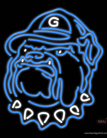 Georgetown Hoyas Neon Sign