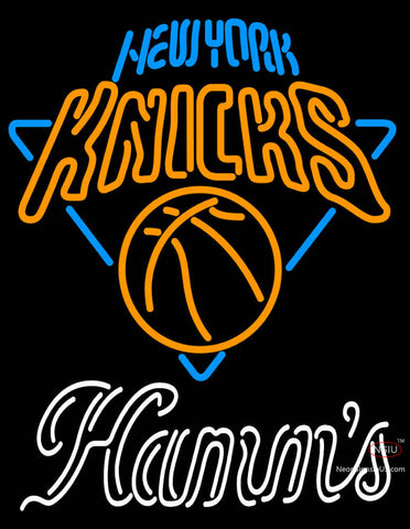 Hamms New York Knicks NBA Neon Beer Sign