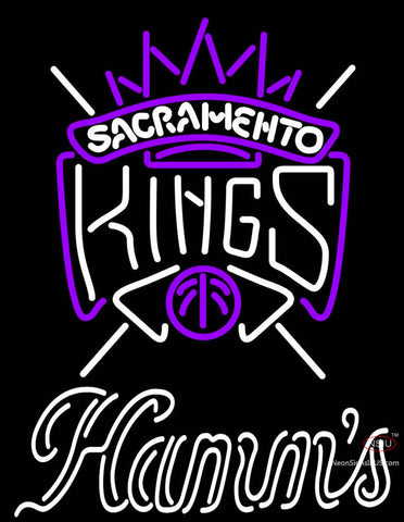 Hamms Sacramento Kings NBA Neon Beer Sign