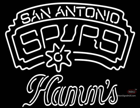 Hamms San Antonio Spurs NBA Neon Beer Sign