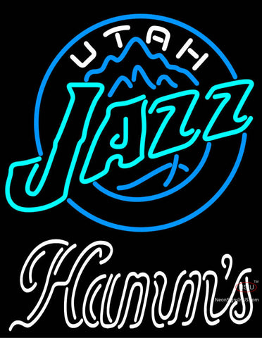Hamms Utah Jazz NBA Neon Beer Sign