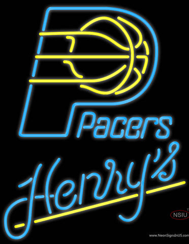 Henrys Indiana Pacers NBA Neon Beer Sign