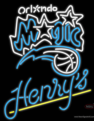 Henrys Orlando Magic NBA Neon Beer Sign