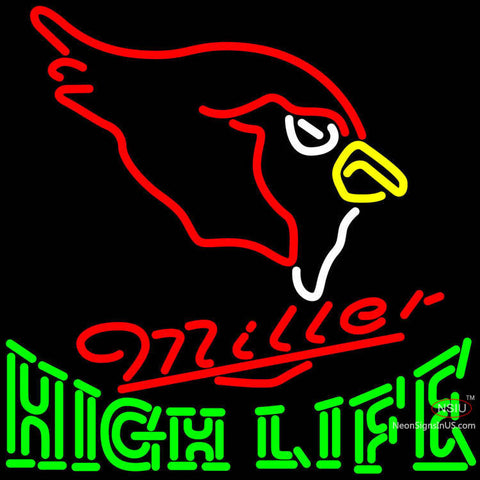 High Life Arizona Cardinals NFL Neon Sign