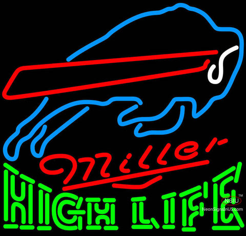 High Life Buffalo Bills NFL Neon Sign