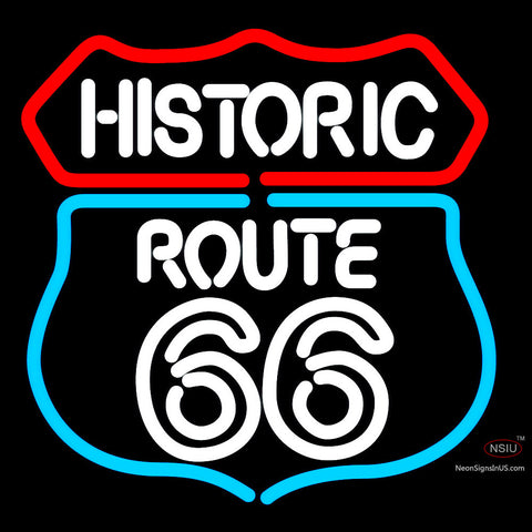 Historic Route  Neon Sign x