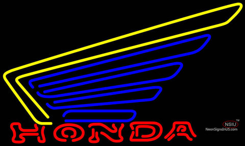 Honda Motorcycles Gold Wing Neon Sign