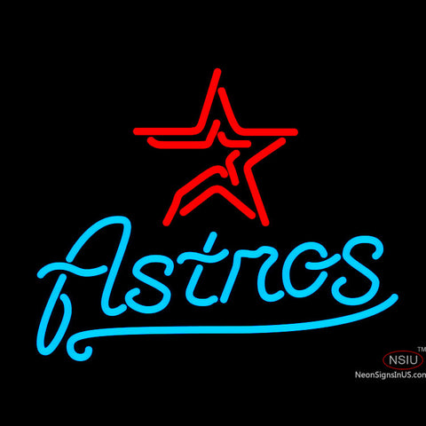 Houston Astros MLB Neon Sign x