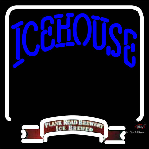 Icehouse Backlit Brewery Neon Beer Sign x