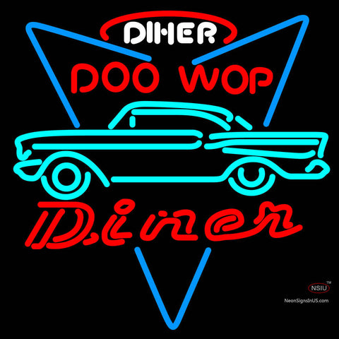 Incredible 7 Chevy Doo Wop Diner Custom Neon Sign