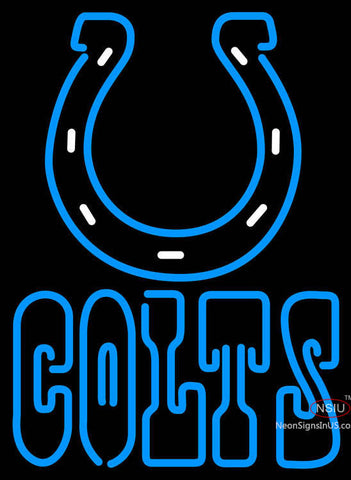 Indianapolis Colts Logo NFL Neon Sign