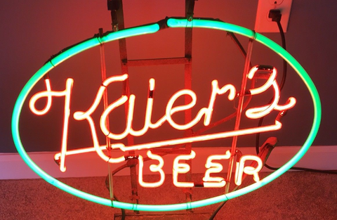 Kaier Beer Handmade Art Neon Signs
