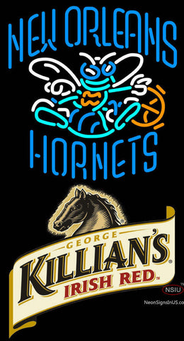 Killians New Orleans Hornets NBA Neon Beer Sign