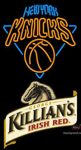 Killians New York Knicks NBA Neon Beer Sign