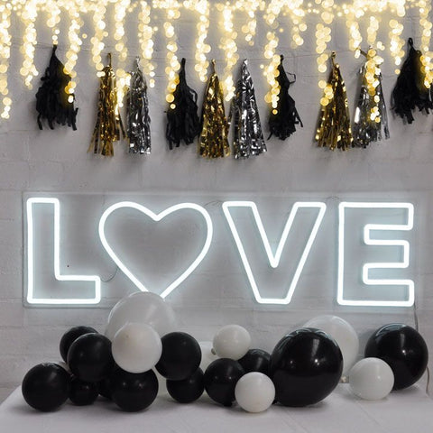 love neon sign for wedding homemade art neon sign
