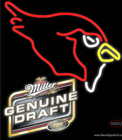 MGD Arizona Cardinals NFL Neon Sign  7 x