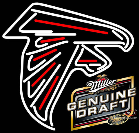 MGD Atlanta Falcons NFL Neon Sign