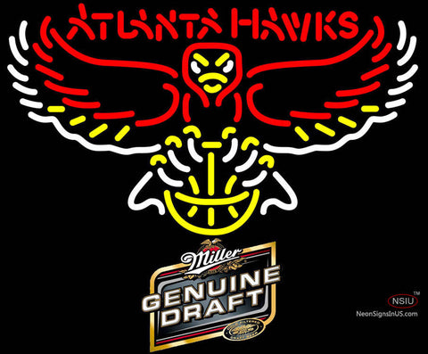 MGD Atlanta Hawks NBA Neon Sign