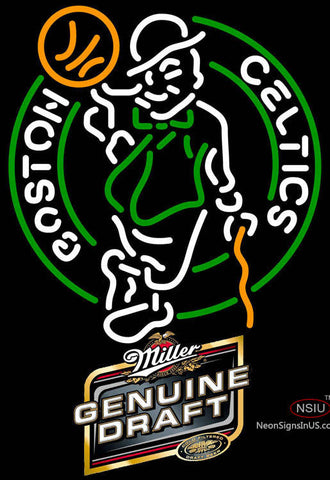 MGD Boston Celtics NBA Neon Sign