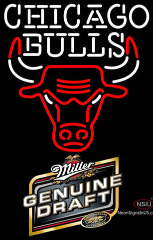MGD Chicago Bulls NBA Neon Sign