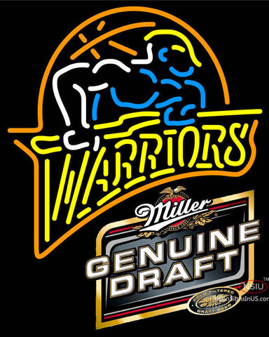 MGD Golden St Warriors NBA Neon Sign